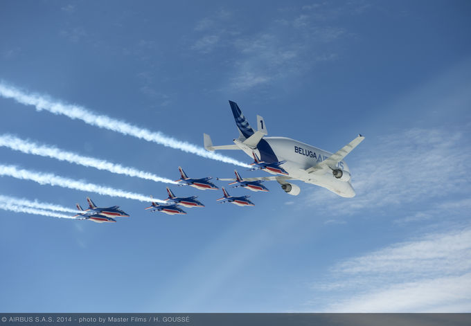"""Now 20 years """"young,"""" Airbus' Beluga airlifters show no signs of slowing down"""